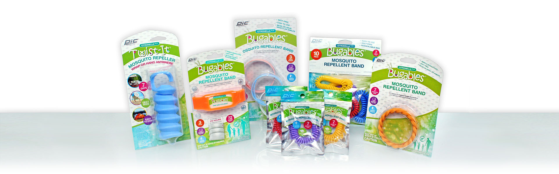 bugables mosquito repellant bands pic corporation
