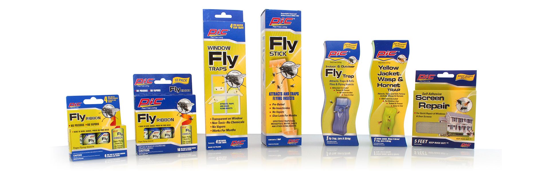 PIC Corporation | Flying Insect Products | Fly Traps |